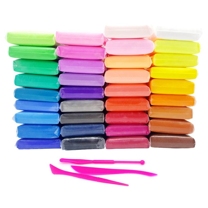 12 color fluffy foam slime air dry playdough clay supplies light soft cotton charms slime cloud