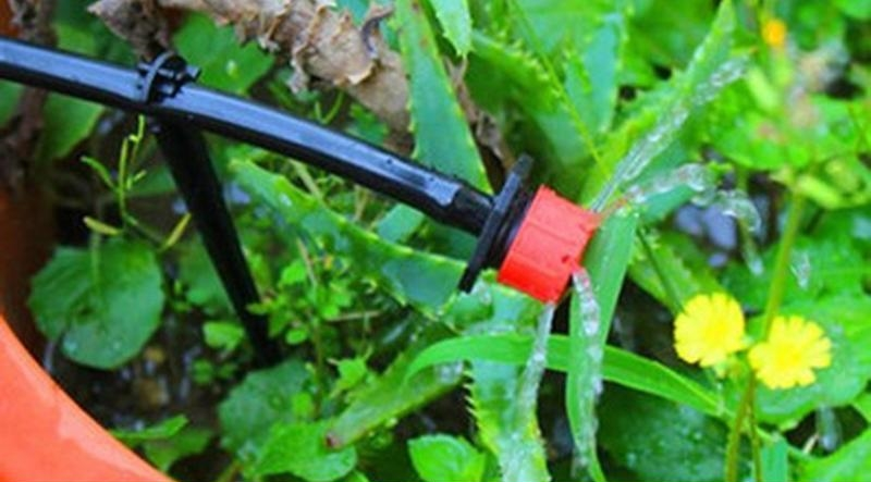 25m auto timer plant self watering tube micro