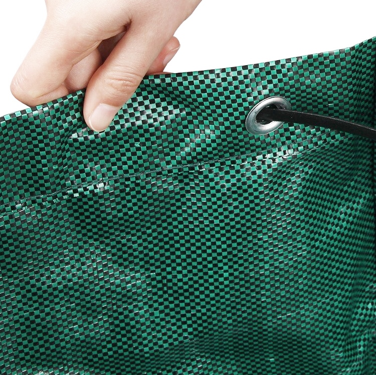 272l reusable heavy duty garden waste bag pp rubbish leaves grass refuge sacks green color gardenb