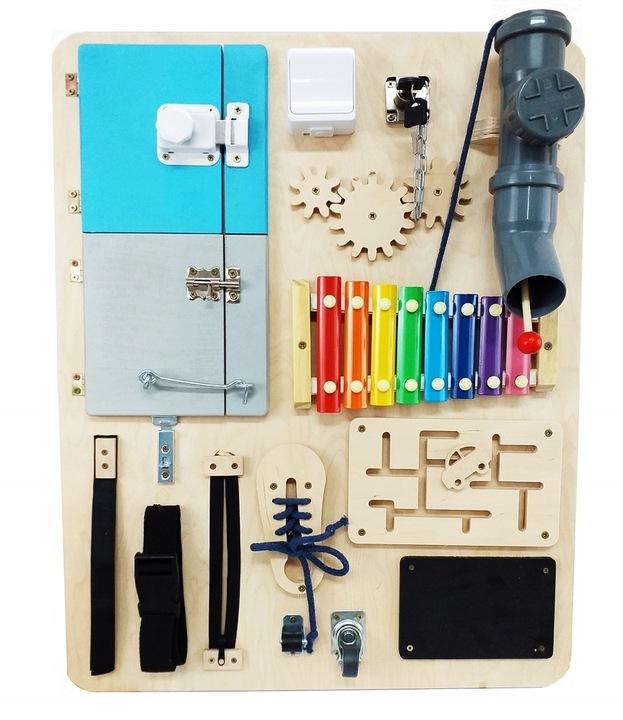 duza tablica manipulacyjna sensoryczna dla dziecka kod producenta tm