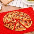 pyramid non stick silicone oven baking tray sheets mats pan fat reducing cooking 44382190
